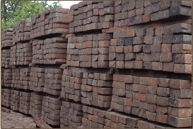 Fixing And Using Railway Sleepers For Your Landscaping Project